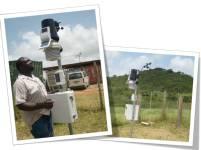 Weather Station at Sam Motta Demonstration Station, Jamaica