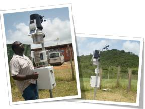 Weather Station at Sam Motta Demonstration Station, Jamaica