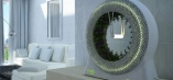 The Greenwheel has a motor to circulate nutrient water, necessary inner and outer lights and of course a sleek design.