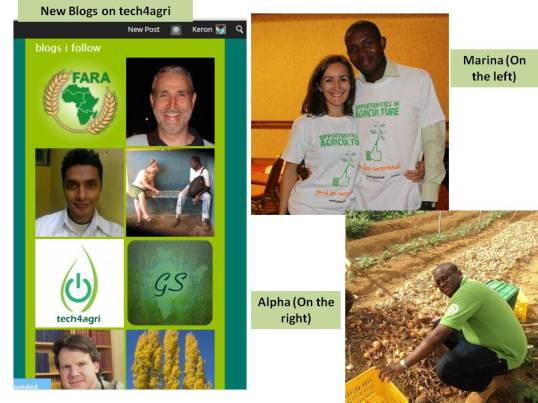 tech4agri page updates