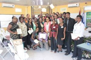 Participants of the Young America's Business Trust Agribusiness Lab Training Workshop