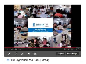Video link agribusiness lab