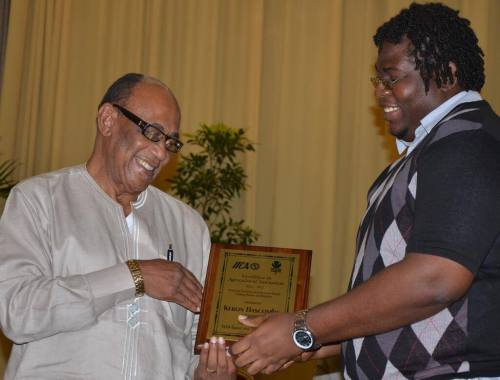 New Media prize at the IICA/CARDI Agricultural Journalism Awards Source: Guardian Newspapers - Trinidad and Tobago