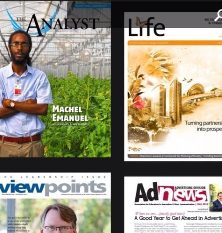 "Top left corner: Machel featured in a cover page story in the magazine The Analyst titled, ""Cashing in on the Jamaica's Ackee Industry."""
