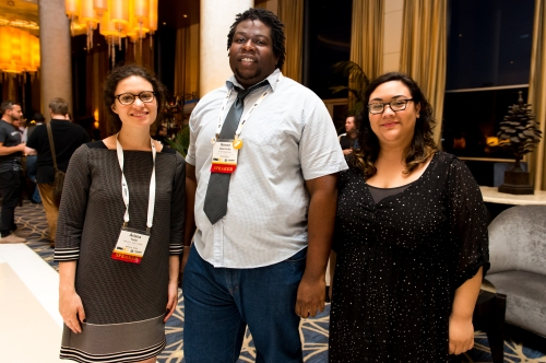 LOS ANGELES, CA - SEPTEMBER 25: The 2015 Online News Association Conference at the Hyatt Regency Century Plaza Hotel on September 25, 2015 in Los Angeles, California. (Photo by Daniel Petty/for ONA)